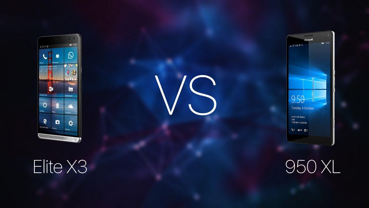 Comparativo: Câmeras Lumia 950 vc HP Elite X3