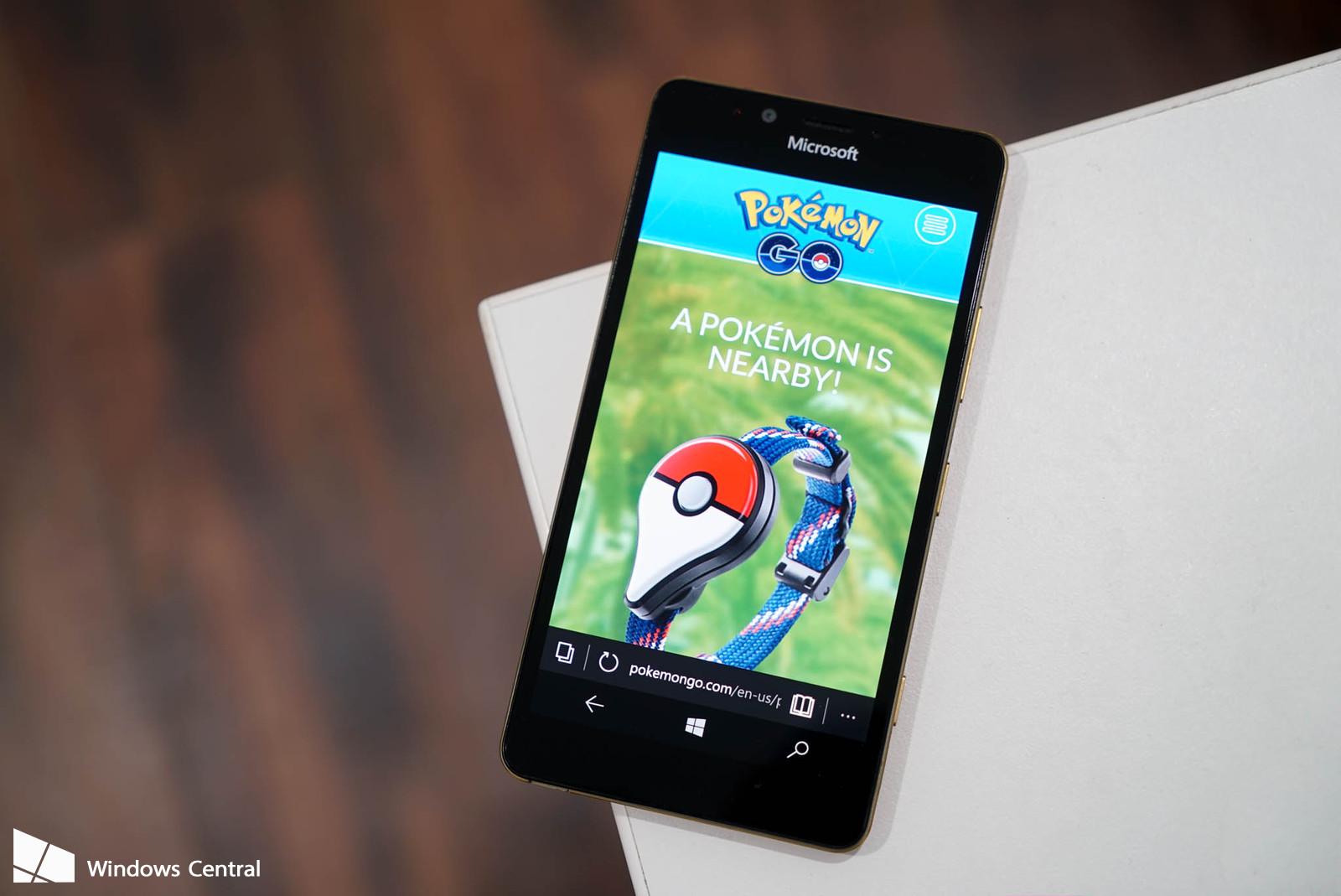 PoGo cliente do Pokemon Go para Windows 10 Mobile e atualizado com novos recursos
