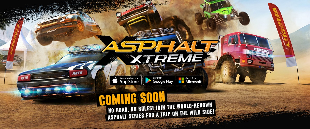 Asphalt Xtreme BETA privado é encontrado na loja do Windows 10 Mobile, confira: