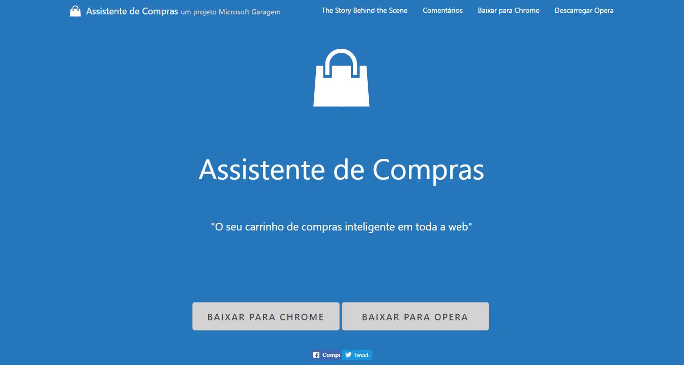 Extensão para Microsoft Edge facilita na hora de fazer compras na web, veja: