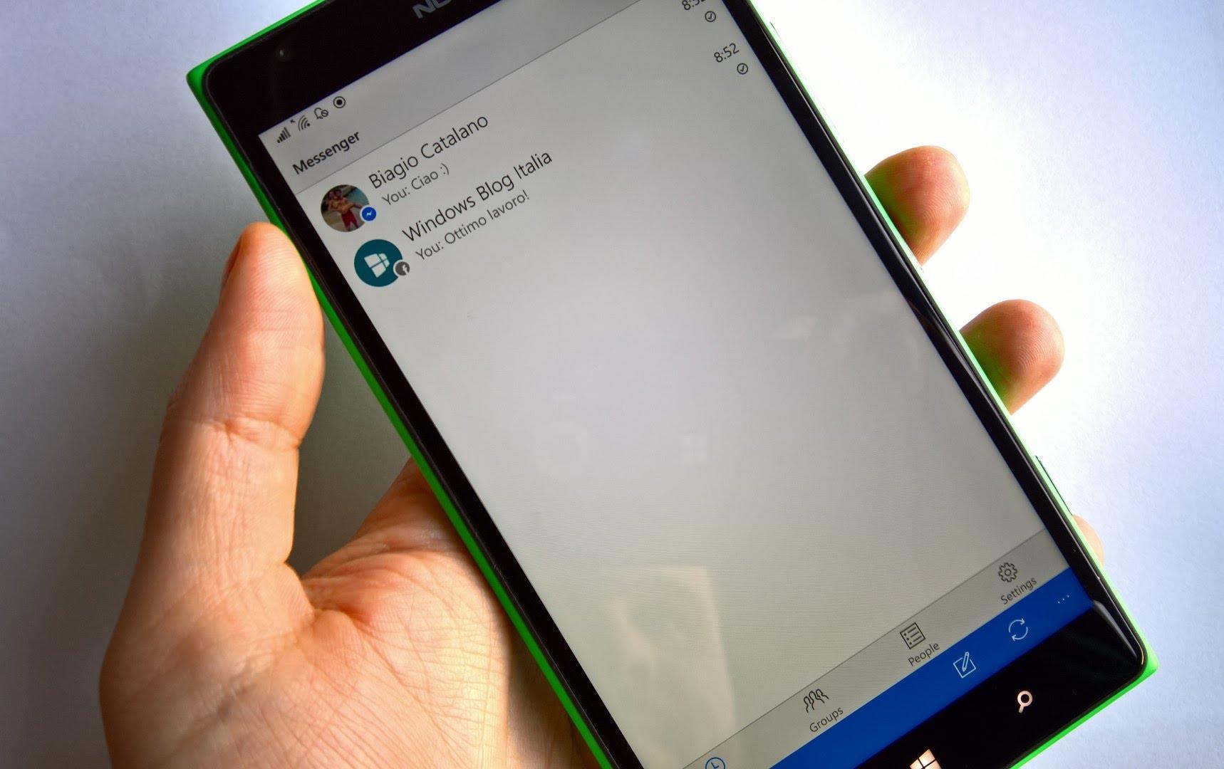 Facebook Messenger Universal é atualizado, e apresenta melhoria no desempenho