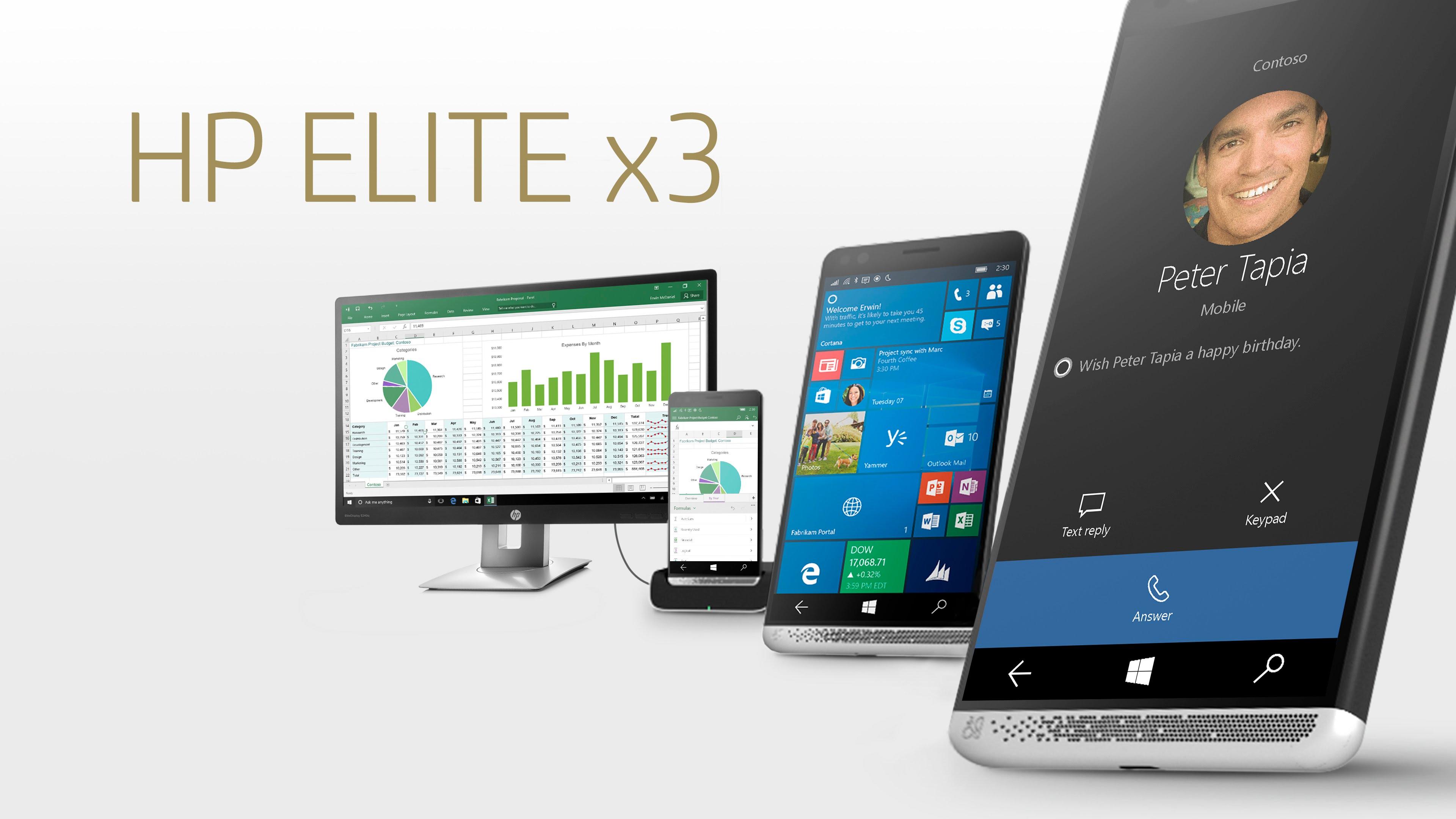 Veja como funciona o HP Workspace no HP Elite X3 transformando-o em um verdadeiro PC