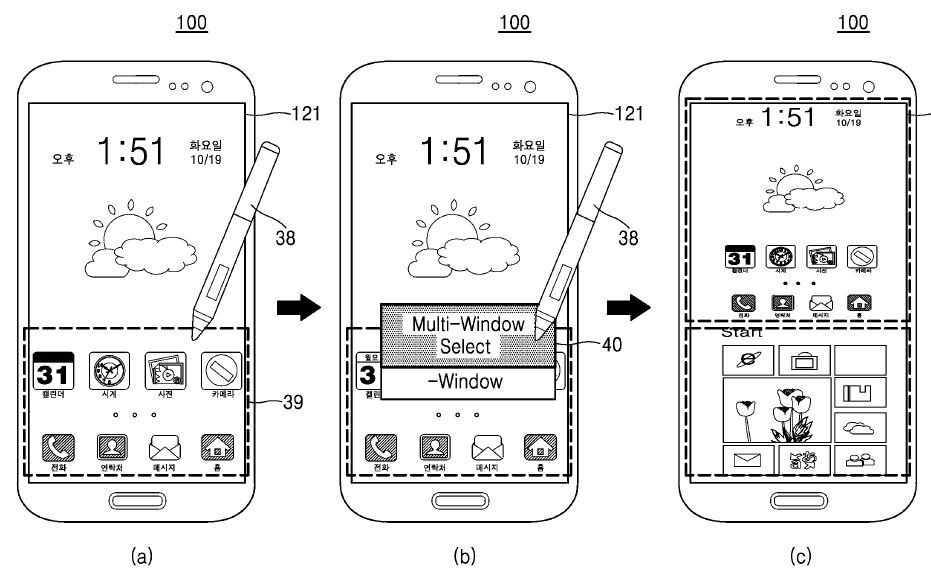 Patentes da Samsung prevê telefone Galaxy rodando o Android e Windows simultaneamente