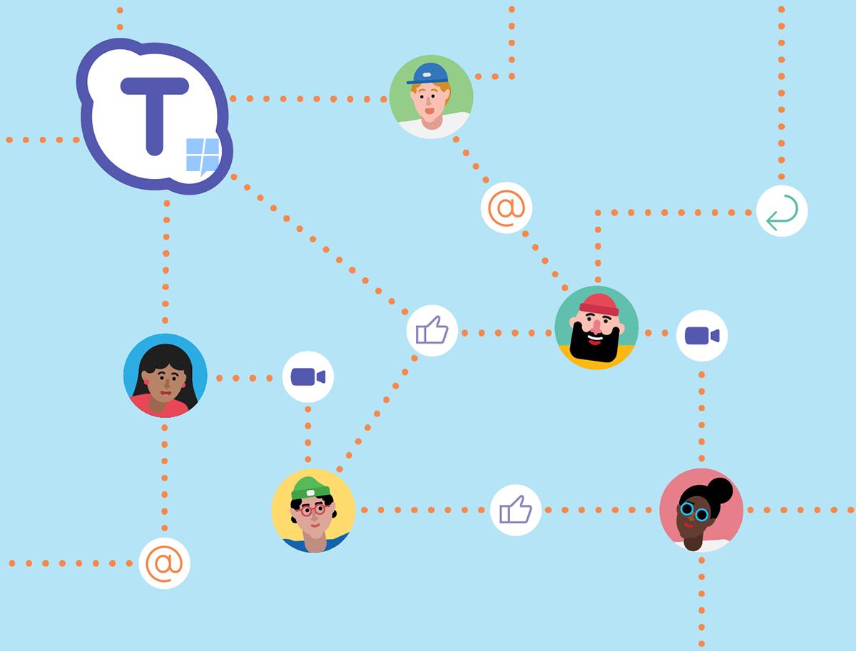 Microsoft está trabalhando em Skype Teams para concorrer com Slack