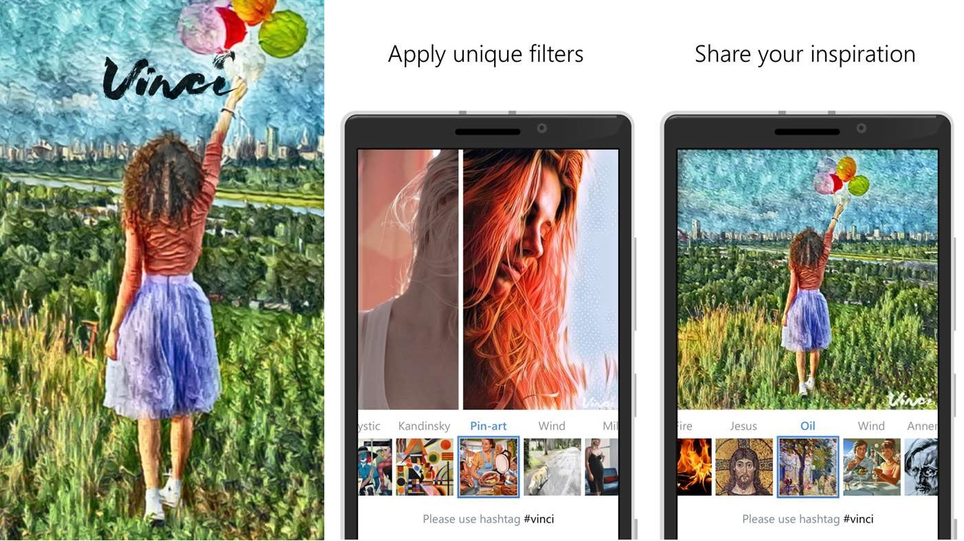 Deixe suas fotos mais elegantes com o Vinci