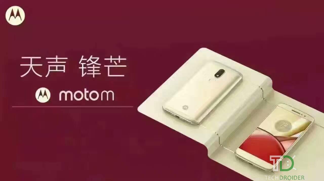 Vazam imagens reais do novo Moto M, mostrando-o em detalhes, confira: