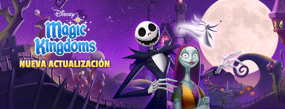 Game Reino Mágico Disney é atualizado em clima de Halloween