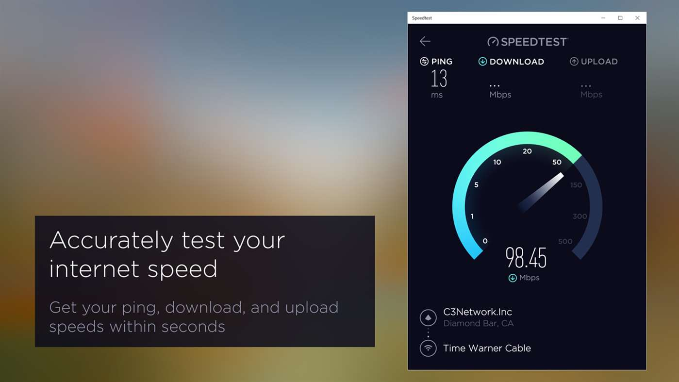 Windows 10 Mobile ganha app do Speedtest by Ookla
