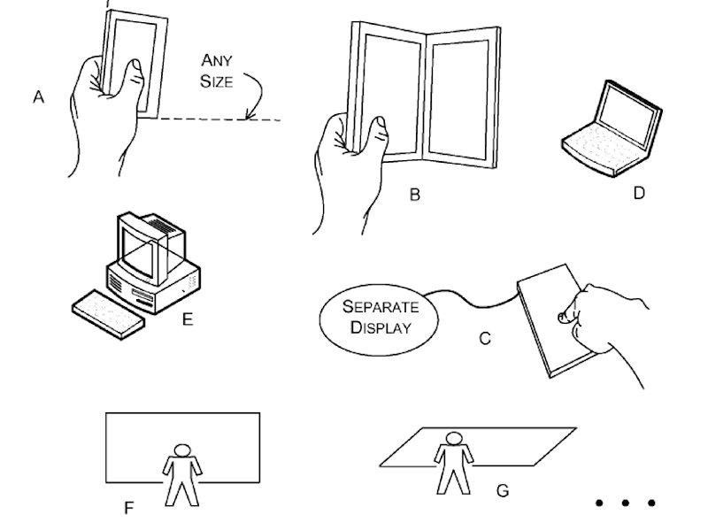 Microsoft tem mais ideias para sua patente de leitor de impressão digital integrado ao display