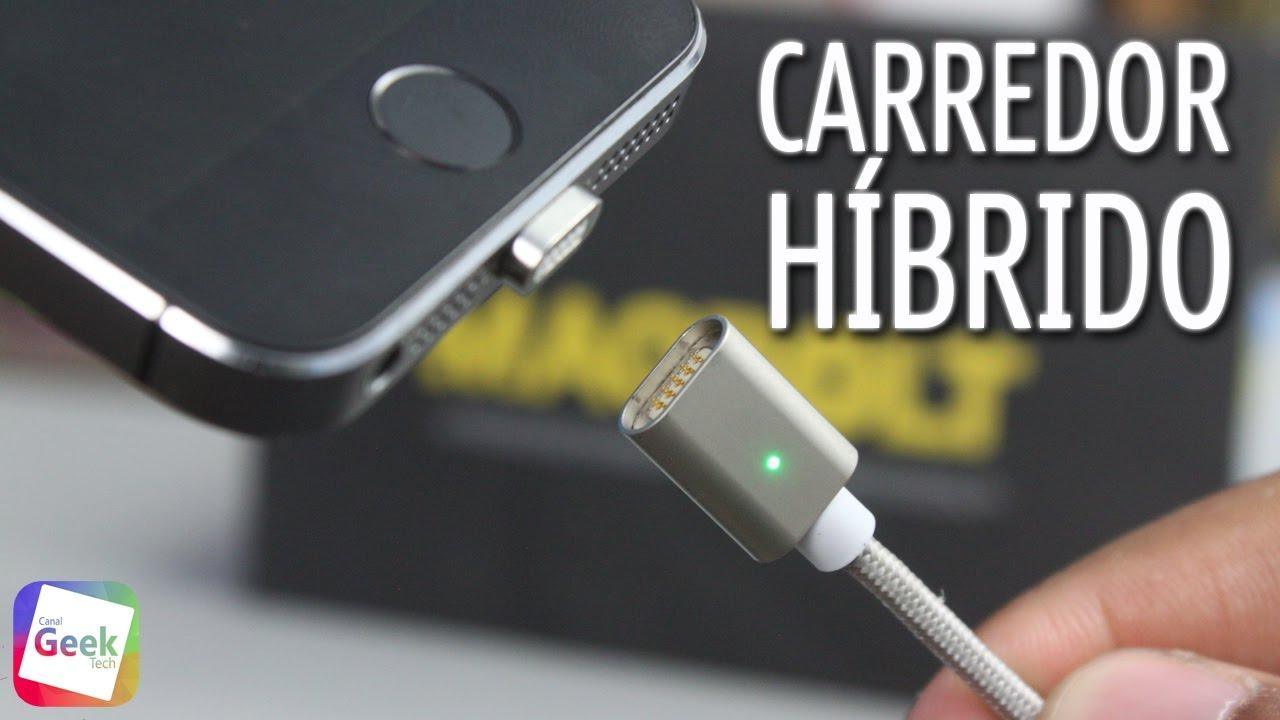 Conheça o Carregador Magnético Reversível Lightning + Micro USB para iPhone, Android e Windows Phone – MagBolt