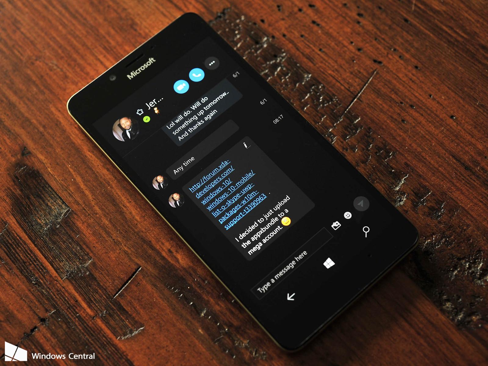 Skype Preview UWP é atualizado para Insiders com novas funcionalidades, veja:
