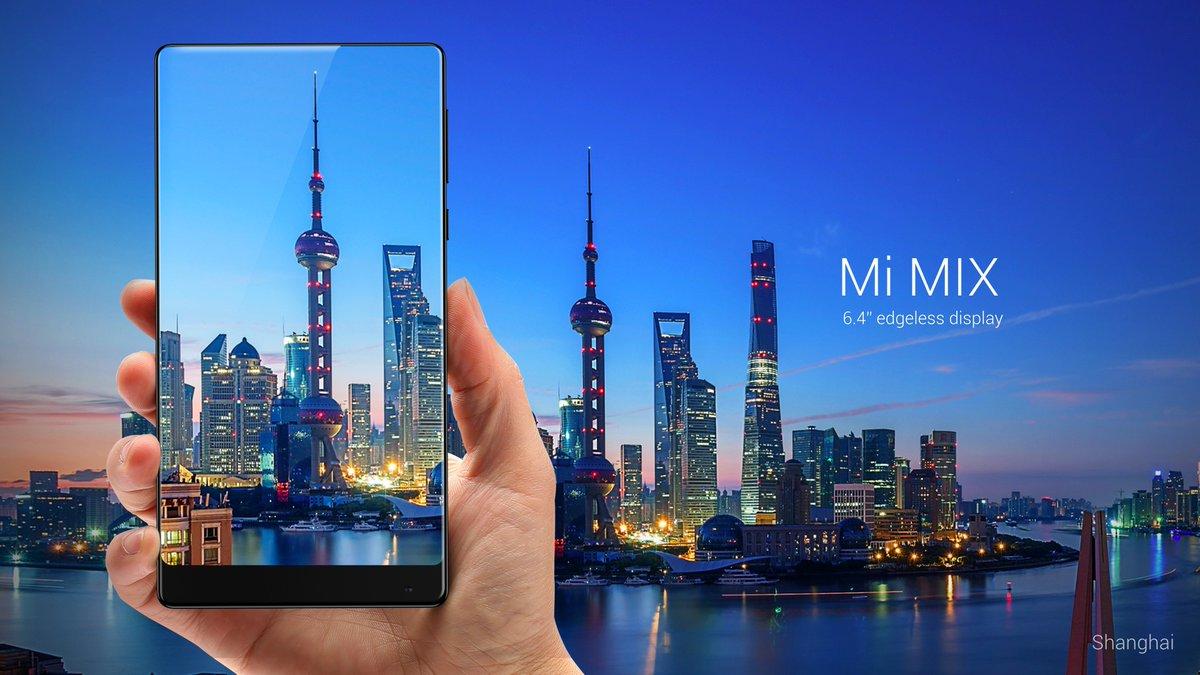 Xiaomi vende todo o primeiro lote do Mi Mix em 10 segundos