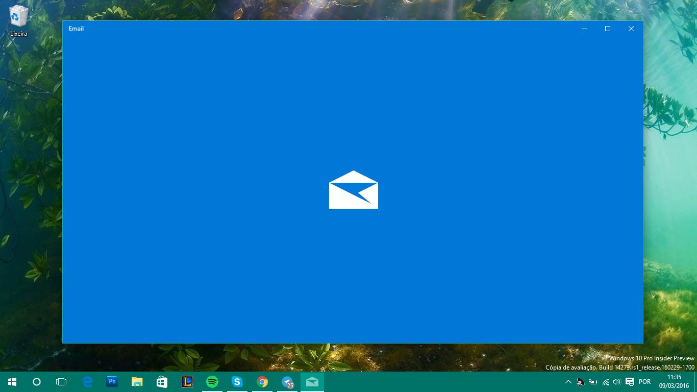 Email e Calendário é atualizado com notificações interativas no Windows 10 no Anel Rápido