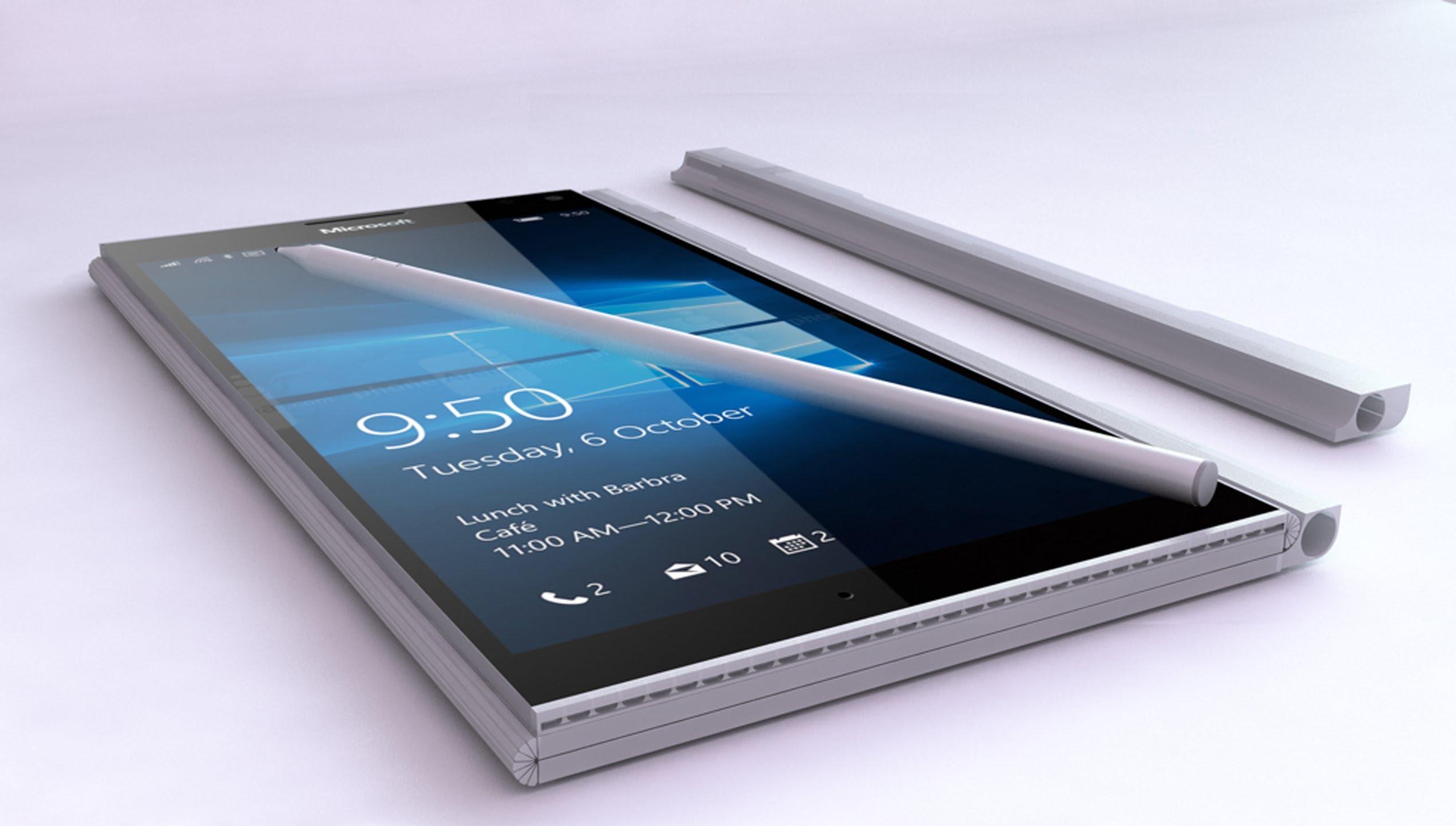"""Suposta nova patente da Microsoft, na verdade, não nos diz nada sobre o """"Surface Phone"""""""