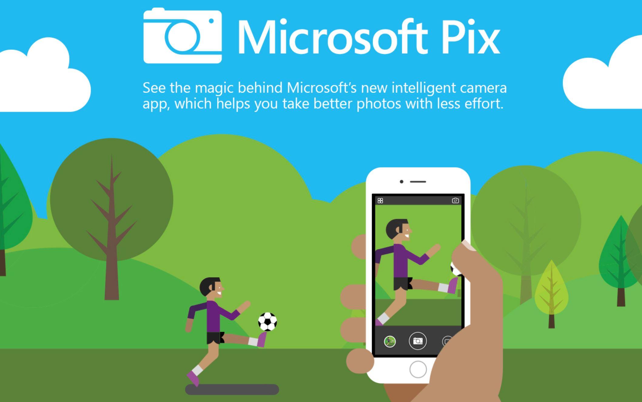 Aplicativo Microsoft Pix Camera para iOS é atualizado com suporte ao Dual Lens no iPhone 7 Plus e mais:
