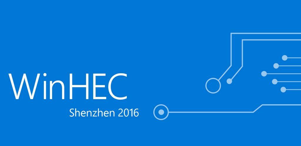 Veja alguns detalhes do próximo evento da Microsoft o WinHEC 2016.