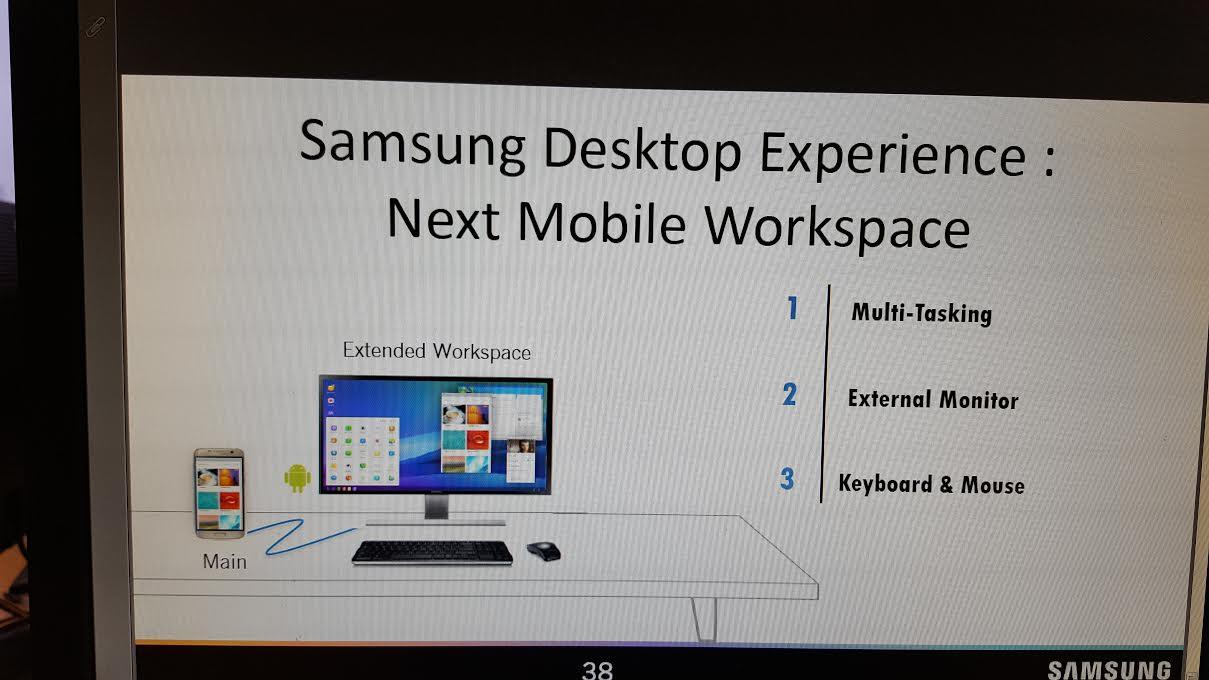 """MICROSOFT ACORDA! Samsung pode está trabalhando em """"Continuum"""" para o Galaxy S8"""