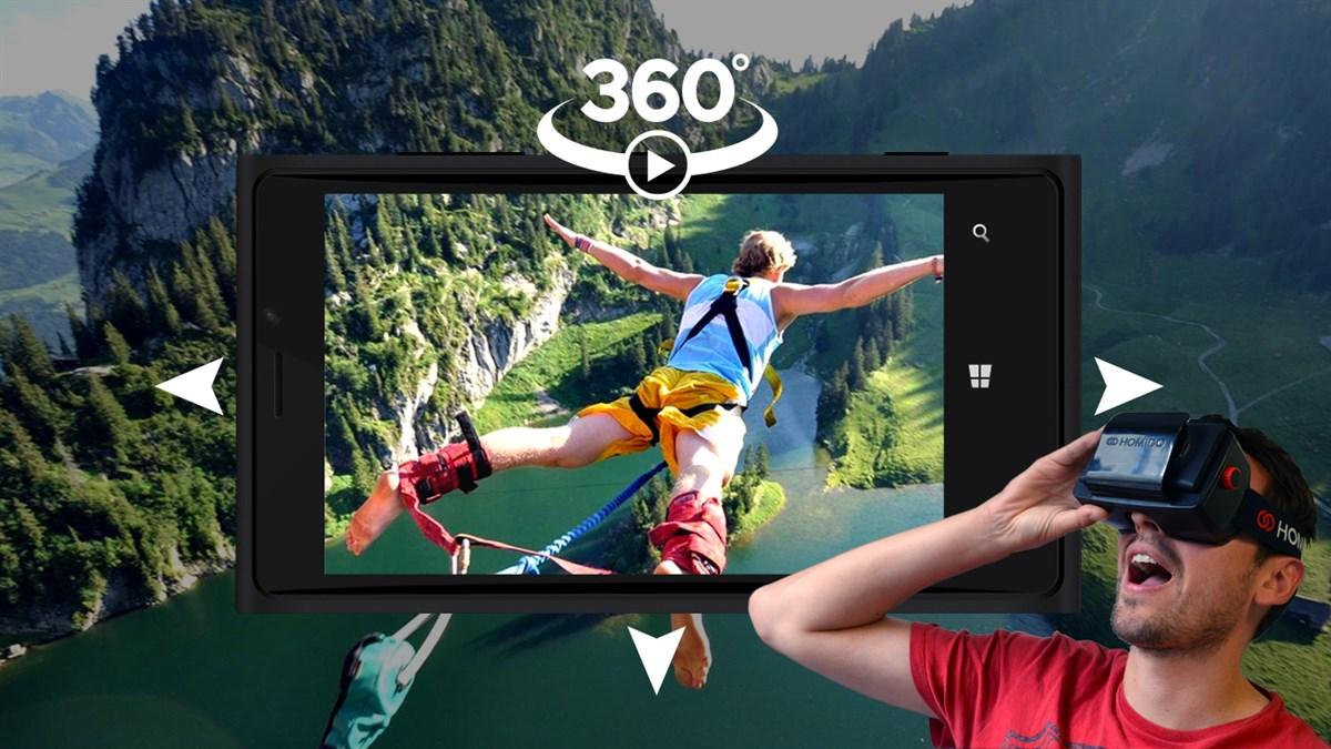 Aplicativo Video 360 pode em breve ter suporte ao Xbox One