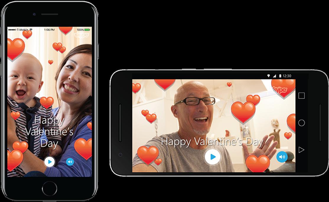 Skype já se prepara para o Dia dos Namorados e apresenta novo recurso, veja: