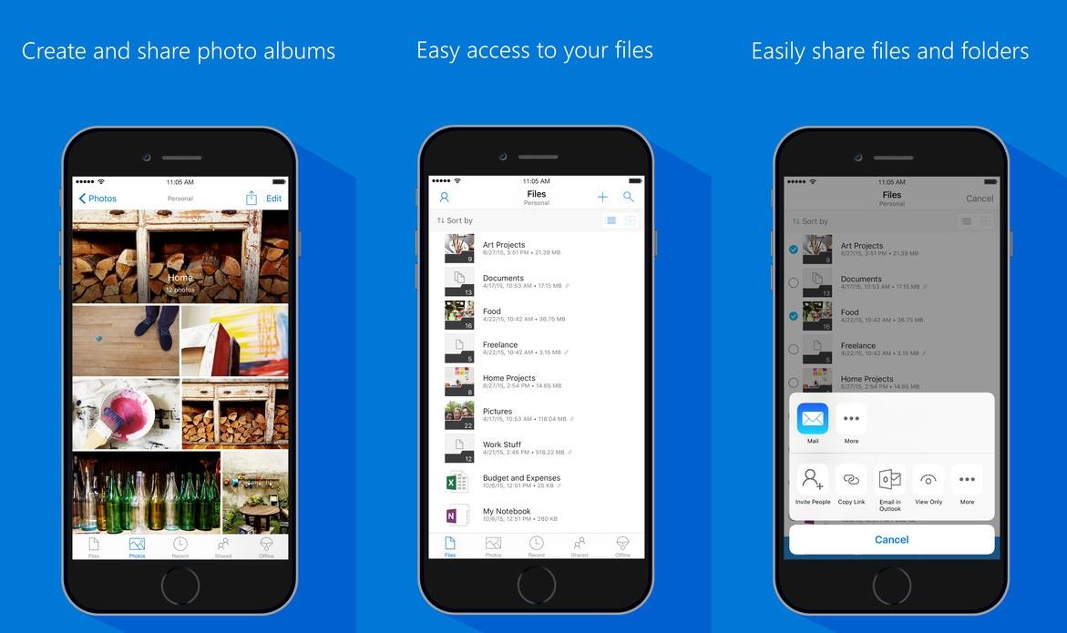 Onedrive: Microsoft anuncia alguns recursos que estão por vir no aplicativo para iOS e Android