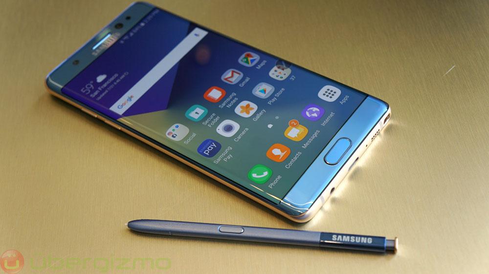 Samsung irá desativar o Galaxy Note 7