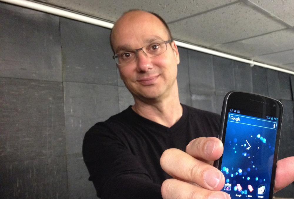 Criador do Android revela imagem que mostra um pouco do seu futuro smartphone