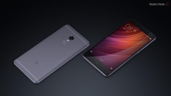 Nova verãso do Xiaomi Redmi Note 4 estará disponível a partir de amanhã com maior memória RAM  e maior armazenamento interno