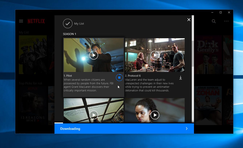 A Netflix agora permite que você baixe filmes e series para ver em modo off-line no Windows 10