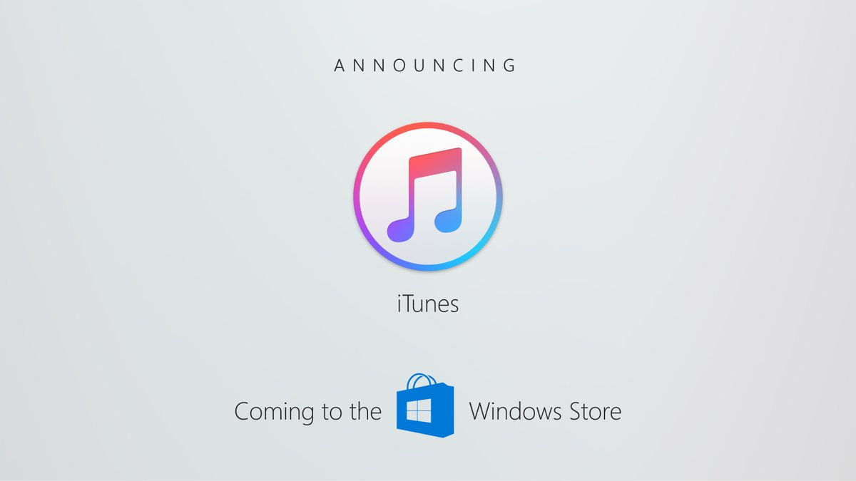 iTunes será disponibilizado na Windows Store!