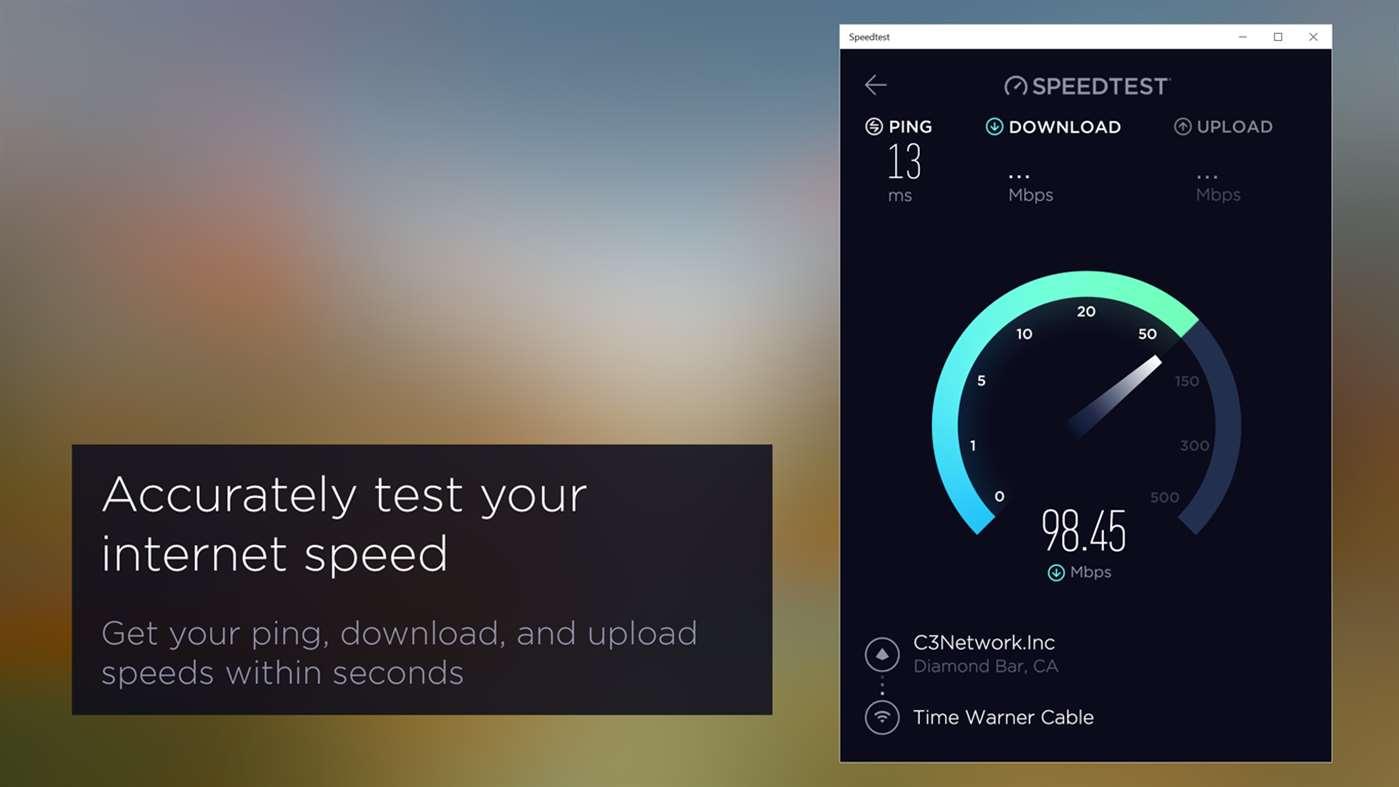 O aplicativo Speedtest by Ookla agora está disponível também para Windows 10 Mobile
