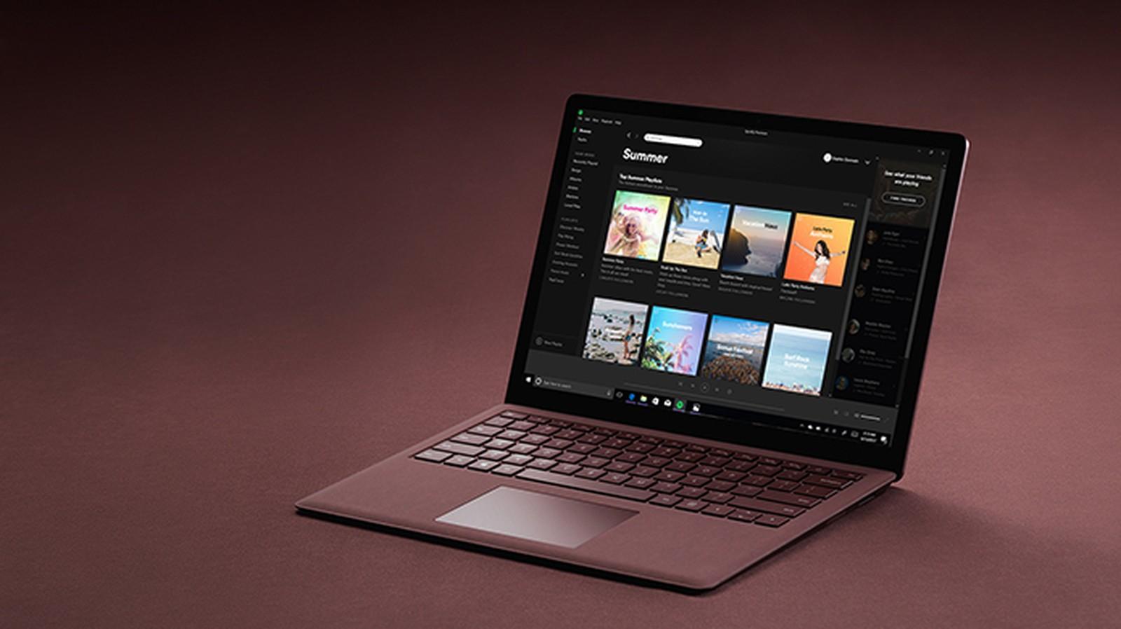 Spotify chegou na loja oficial do Windows 10