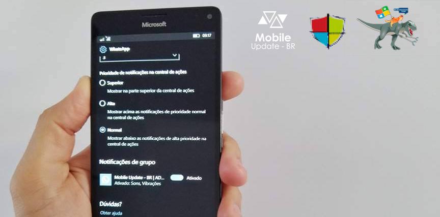 [Vídeo] Você pode personalizar ainda mais as notificações do WhatsApp no Windows 10 Mobile