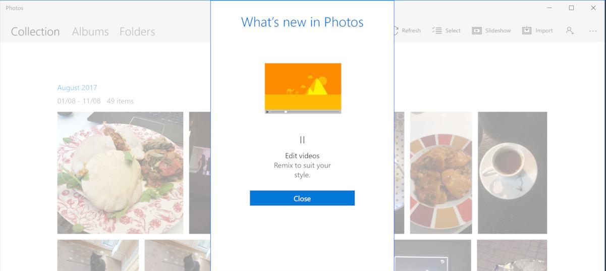 Microsoft começa a liberar novas funções no aplicativo oficial de Fotos!