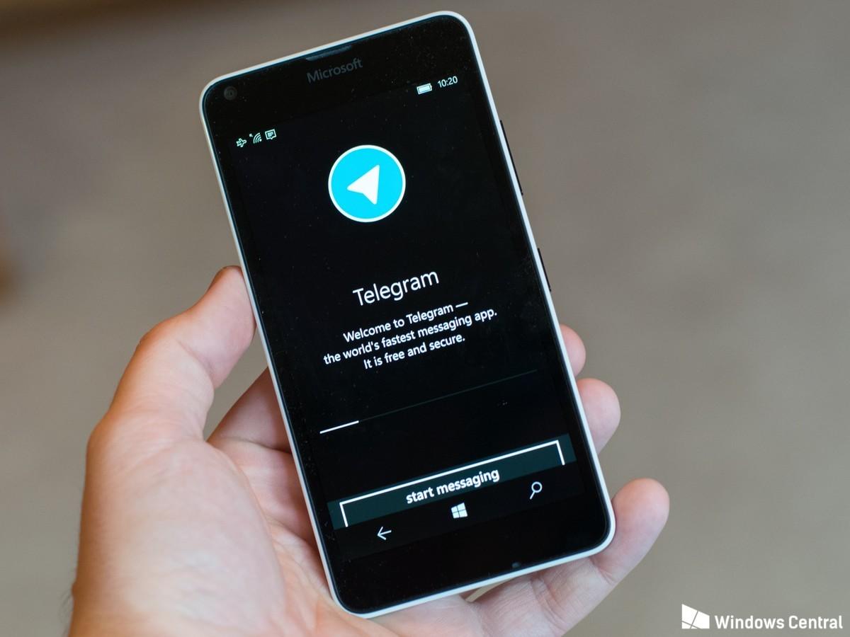 Telegram para o Windows 10 Mobile agora conta com fotos autodestrutivas e mais, veja: