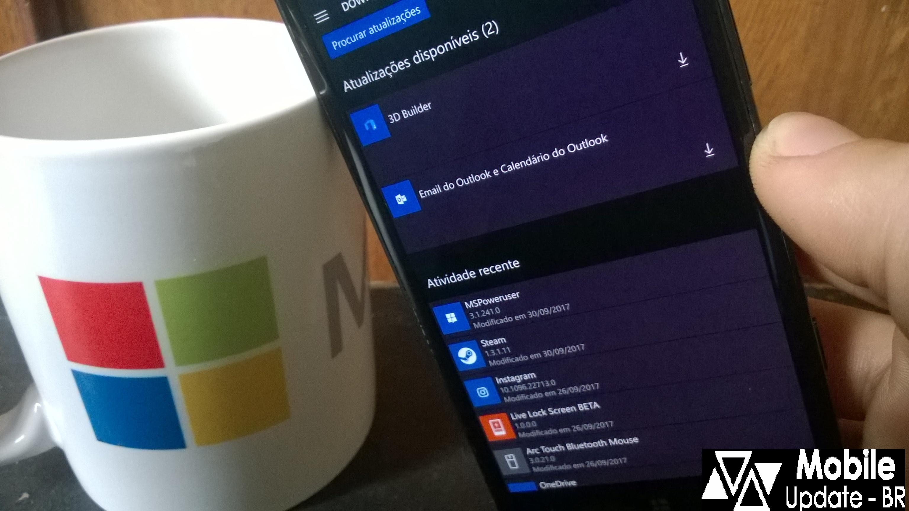 """Microsoft reintroduzindo a data da """"Ultima Atualização"""""""