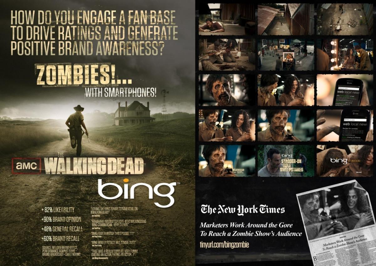 Microsoft compra anúncios no The Walking Dead