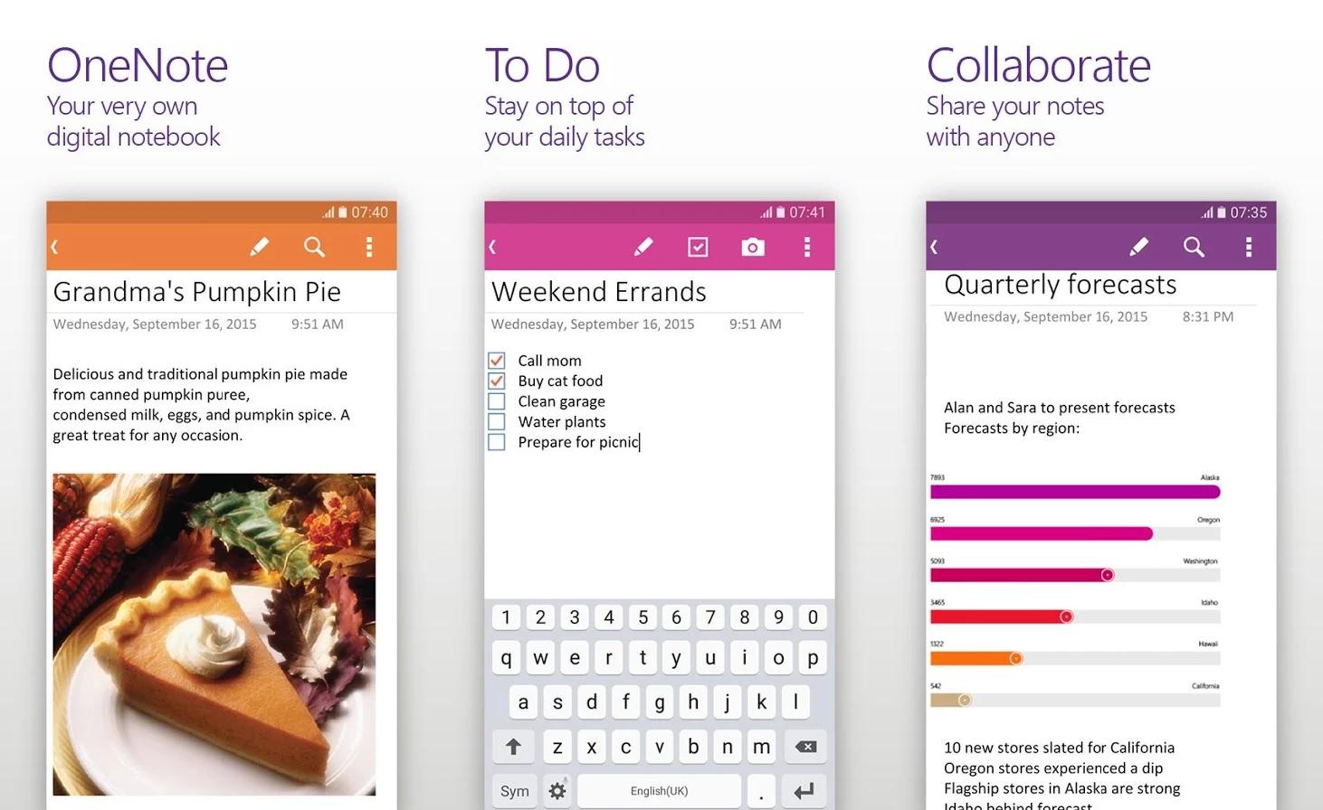 OneNote: Atualizado no Android com melhorias na usabilidade