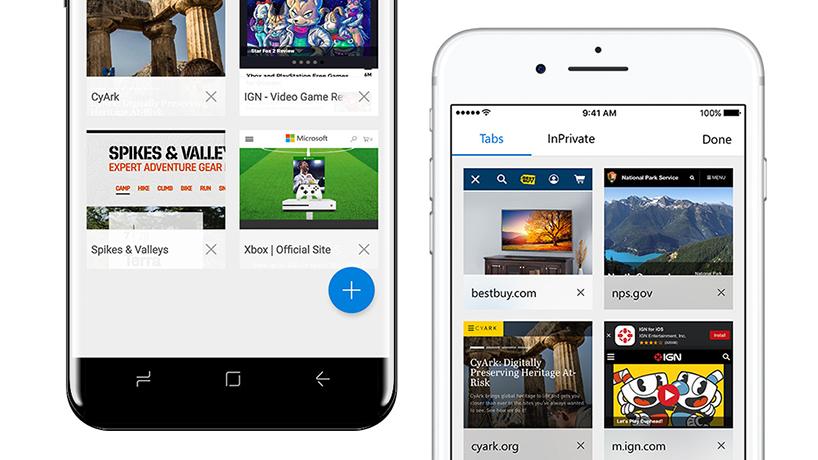 Microsoft Edge Preview para iOS e Android ganha recurso de sincronização de senhas