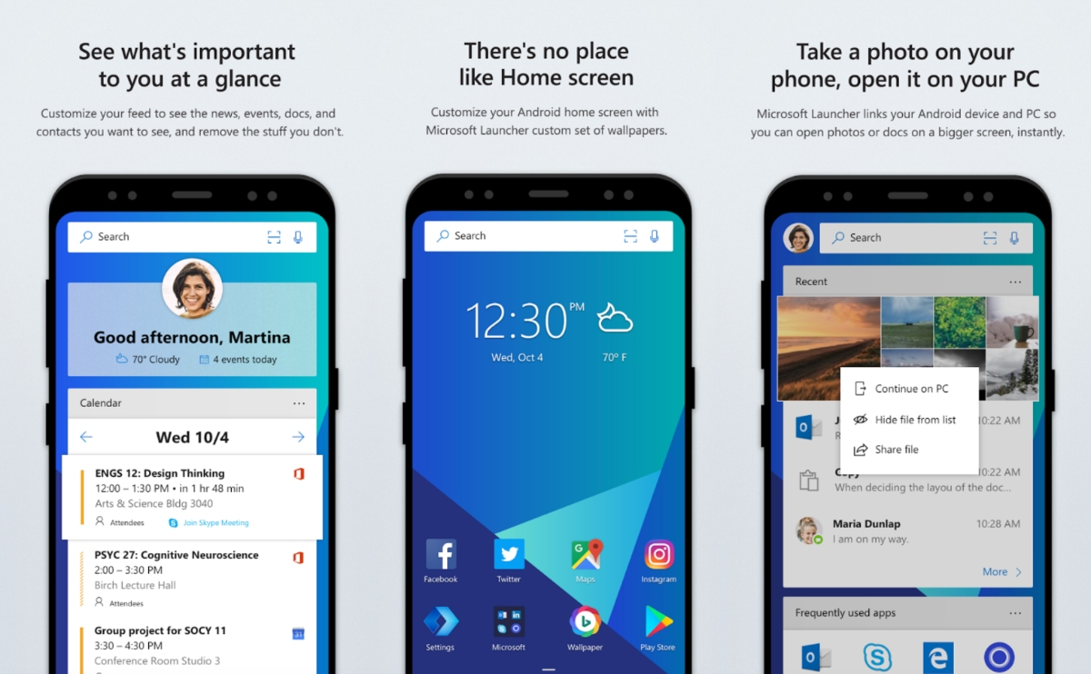 Android: Microsoft Launcher Beta ganha update