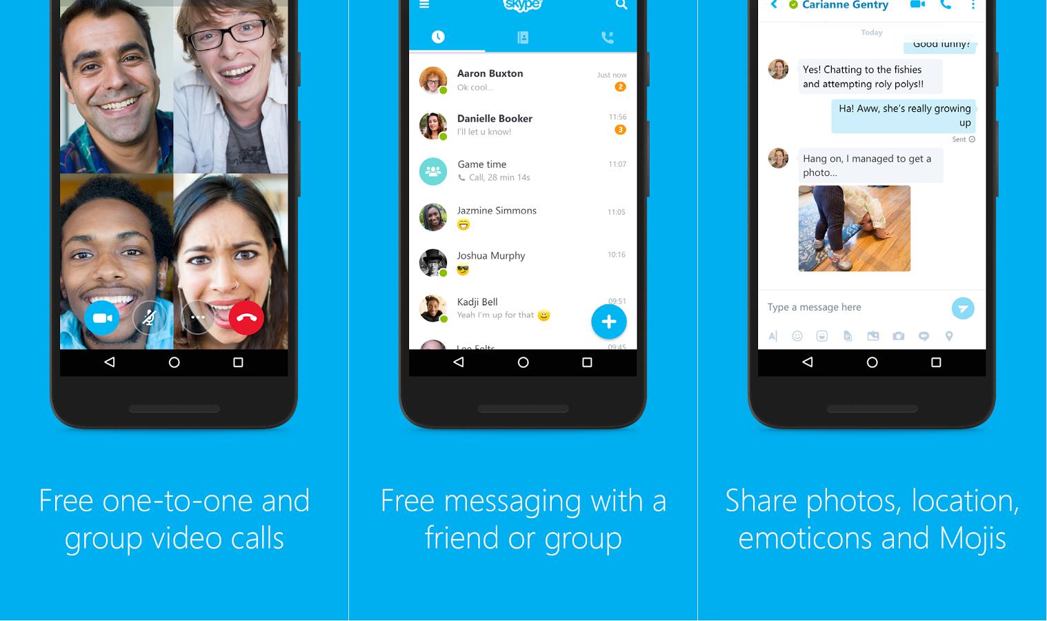 Android: Skype é atualizado com suporte para opções de chamadas