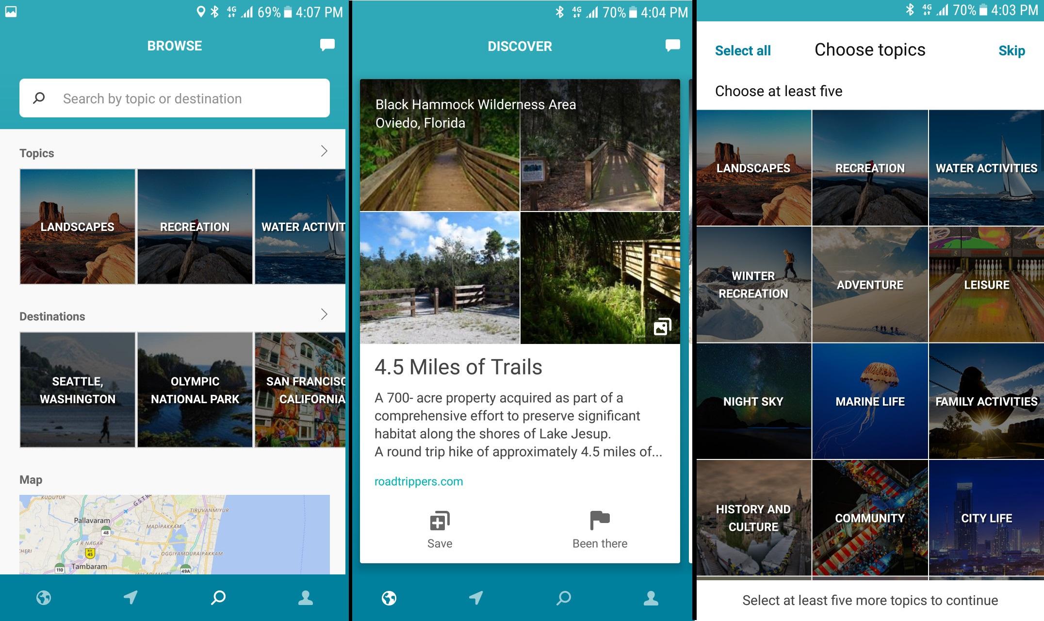 Outings: O aplicativo de viagem da Microsoft está agora no ar