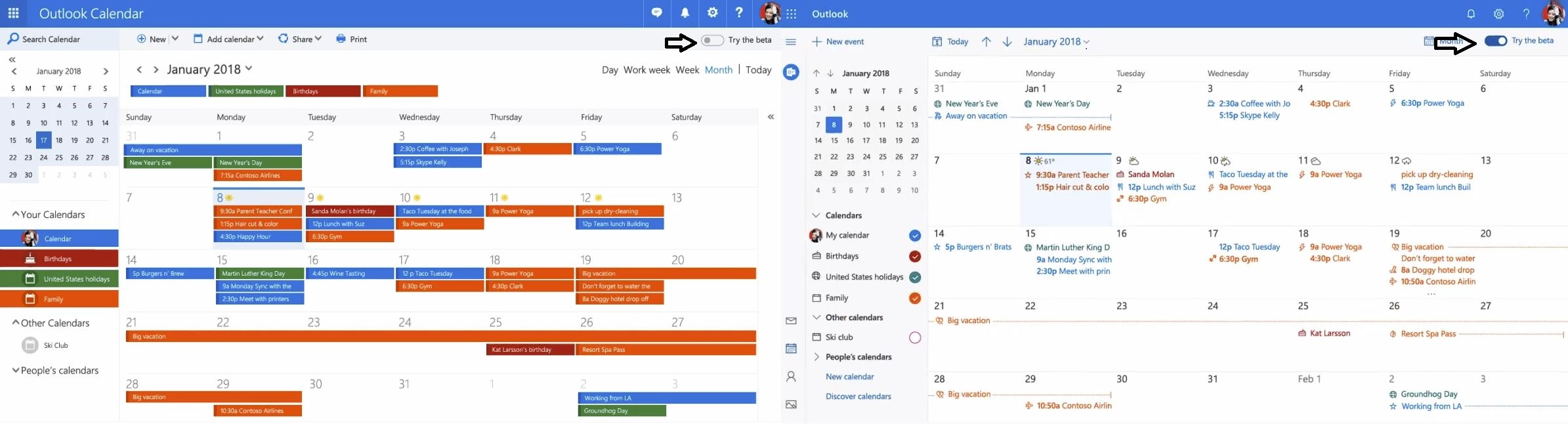 Calendário do Outlook: Microsoft anuncia nova experiencia visual no Outlook.com
