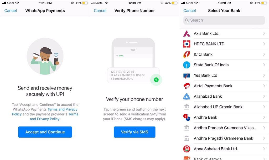Whatsapp: Função de pagamento pela aplicação está por vir