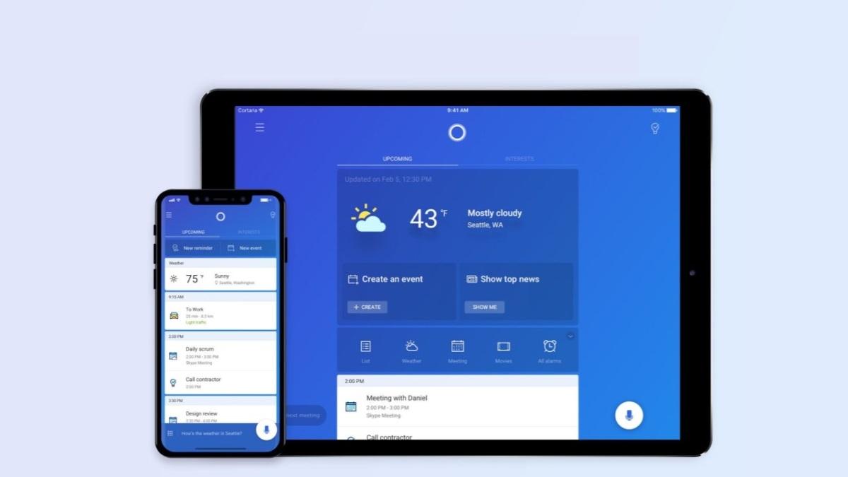 Cortana: A assistente de voz da Microsoft Chega ao Ipad