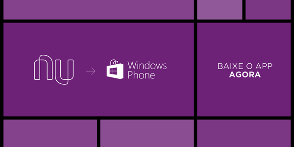 NUBANK está deixando o Windows Phone