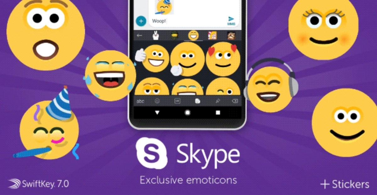 Android: SwiftKey atualizado com pacote Halo Sticker e emoticons do Skype
