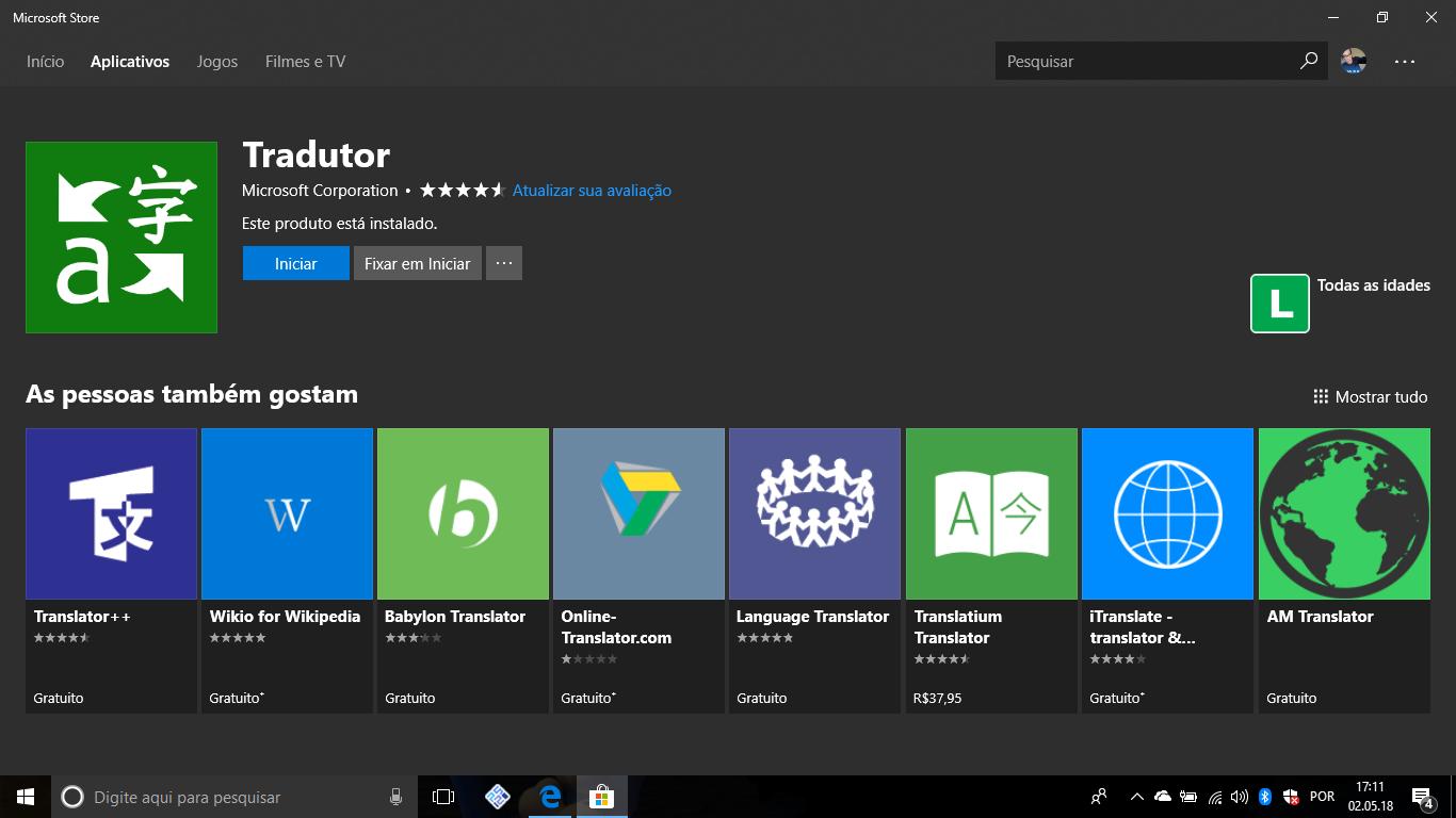 Microsoft Tradutor: Atualizado com varios melhorias
