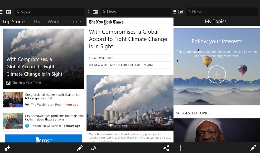Android: MSN News se tornará Microsoft News