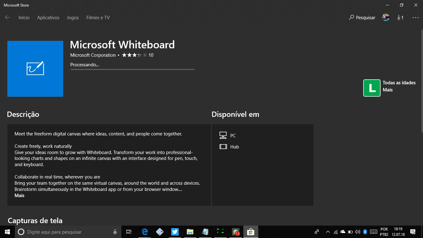 Whiteboard: Microsoft anuncia versões para web e iOS