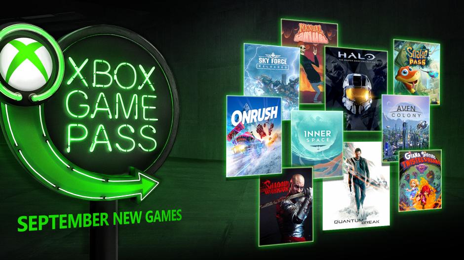 Xbox Game Pass: Jogos que entram no Programa em Setembro